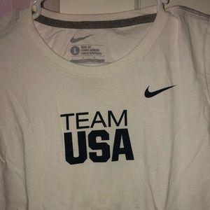 Team USA Nike Short Sleeve